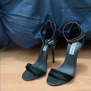 Steve Madden Black Heels Women Size 5.5